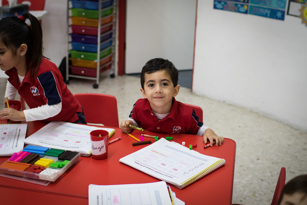 necali niño kinder preschool learning
